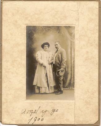Angel y La hija del Caribe 1900