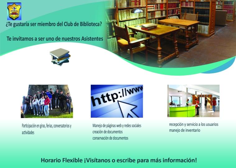 Para por la biblioteca o contáctenos para más información.