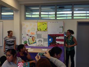 Exposición trabajos estudiantes